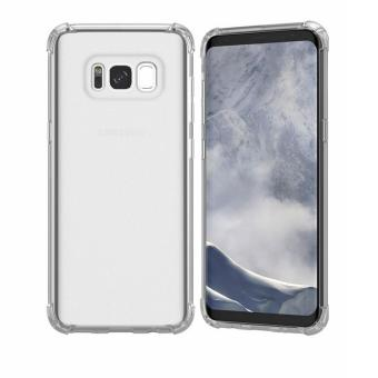 German Import Shockproof Silicone Clear Case For Samsung Galaxy S8 Plus (Clear) Price Philippines
