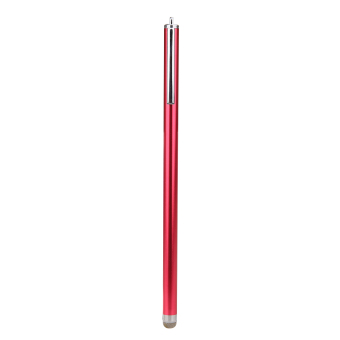 Harga Micro-Fiber Touch Screen Stylus Capacitive Pen for iPhone Tablet PC (Red) - intl