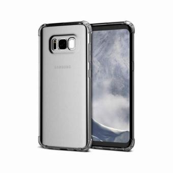 German Import Shockproof Silicone Clear Case For Samsung Galaxy S8 (Smoke Grey) Price Philippines