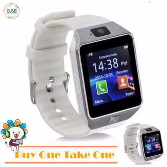 Harga D&D DZ09 Bluetooth Touch Screen Smart Watch with Camera (BUY ONE TAKE ONE)
