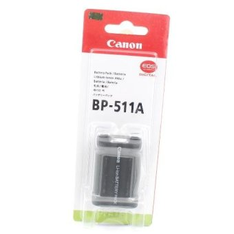 Harga Canon Battery BP 511A for Canon EOS 5D, 50D, 40D, 30D, 20D, 10D, D60, D30, Pro90 IS, Pro1, G1, G2, G3, G5 and G6