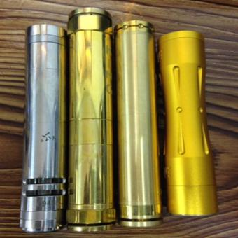 Mechanical Mod set of 4 without Battery, charger and atomizer (Assorted design and Color) Price Philippines