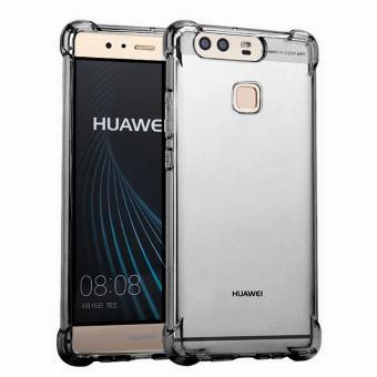 German Import Drop Resistant Silicone Clear Case for Huawei P9 (Smoke) Price Philippines