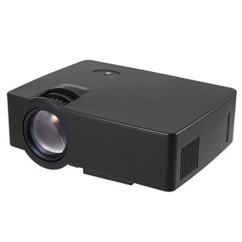 US PLUG E08 LCD Projector 2500 Lumens 800 x 480 Pixels 1080P Home Theater - intl Price Philippines