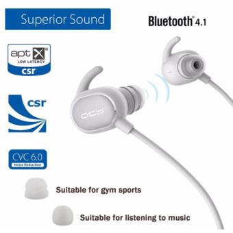 QCY QY19 Phantom Original Sweatproof Bluetooth Headset (White) Price Philippines