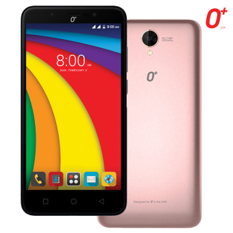 "Harga O+ Ultra 3.0  (Rose Gold, 5.5"" HD IPS, 2GB RAM, 4700mAh Big Battery, 144GB Bigger Memory)"