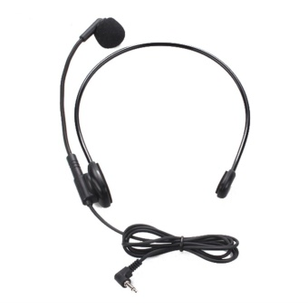 Cable Head-mounted Headset Microphone Flexible Wired Boom Amplifie - intl Price Philippines