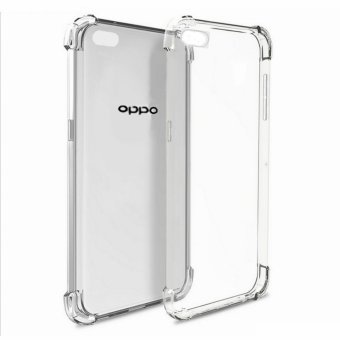 Harga German Import Shockproof Silicone Clear Case for Oppo F1s / A59 (Clear)