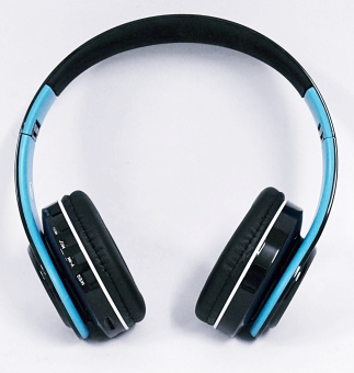 ST-422 Extra Bass Stereo Foldable Wireless Headset (Blue) Price Philippines