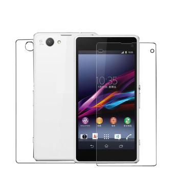 Harga 3 Front 3 Back Clear Screen Protector Film For Sony Xperia Z1 Compact Clear