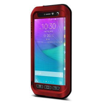 Harga LOVE MEI Note Edge for SAMSUNG Galaxy Note Edge N9150 (Red) - intl