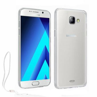 Harga Xundd Slim Silicone Case with Lanyard for Samsung Galaxy A5 2017 (Clear)