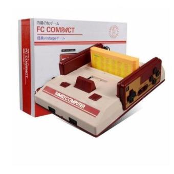 Harga Family Computer FC Compact Vintage Game Console Built in 500 Games and 132 in1 Game Cartridge