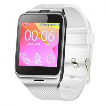 NFC Aplus Smart Bluetooth Watch with Camera Bluetooth WristWatch SIM Card Smartwatch Color White Price Philippines