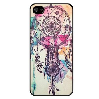 Harga Popular Dream Catcher Phone Case For Iphone 5C (Black)