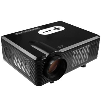 Multi-function 3000LM 1280 x 800 Pixels LED Projector with Analog TV Interface - intl Price Philippines