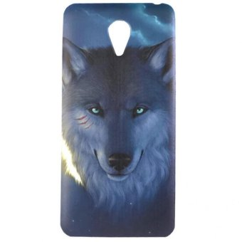 Harga Wolf Design Hard Case for Meizu M2 Note (Multicolor)