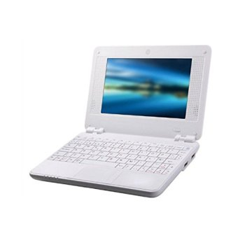 Deerway 7 inch Mini Notebook Laptop Netbook Android 4.2 System 4GB Storage VIA 8880 Cortex-A9 1.2ghz Wifi Netbook Tablet Pc, Installed Wifi and Camera, Watch News, Youtube Facebook Twitter,2 USB Ports, Sd Card Slot, Hdmi Por- White - intl Price Philippines