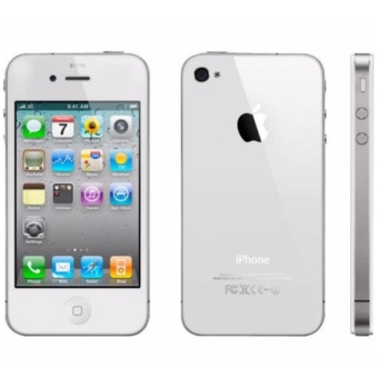 Harga Apple iPhone 4 16GB (White)- Hong Kong-wide network