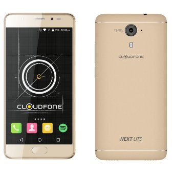Harga CloudFone Next Lite 32GB (Gold) with Free Jelly Case and Screen Protector
