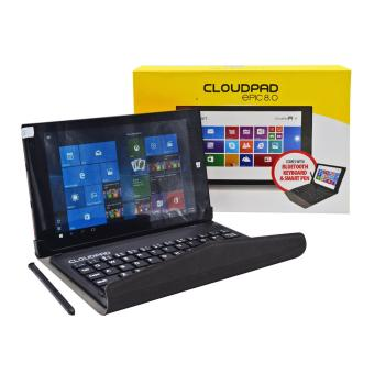 Harga Cloudpad Epic 8.0 16GB with FREE Smart Pen and Bluetooth Keyboard (Blue)
