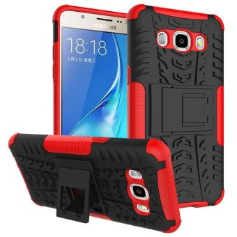 BYT Rugged Dazzle Case for Samsung Galaxy J5 2016 with Kickstand (Red) Price Philippines