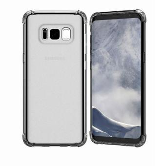 German Import Shockproof Silicone Clear Case For Samsung Galaxy S8 Plus (Smoke Grey) Price Philippines