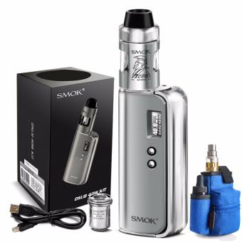Harga Smok OSUB 40W Variable Electronic Cigarette Starter Kit (Silver) with Coil Master Potable Bag for E-cigarette (Color May Vary)