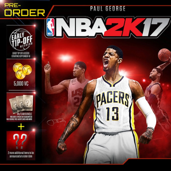 PRE-Order NBA 2K17 for XBox 360 Standard Price Philippines