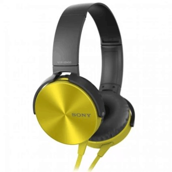 Sony MDR-XB450AP 102dB Extra Bass Smartphone Headset (Gold) Price Philippines