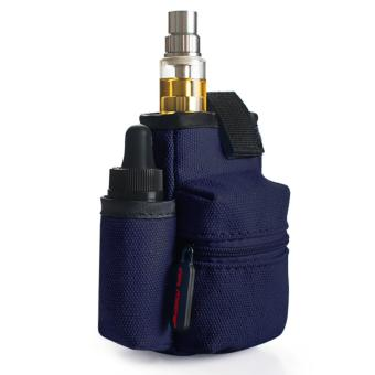 Harga Coil Master Portable Pouch Bag for Electronic Cigarette (Dark Blue)
