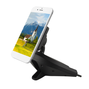 Harga OH General Used Modern Magnetic CD Slot Mount Mobile Phone Vehicle Holder - Intl