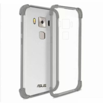 "Mobilehub German Import Silicone Shockproof Case For Asus Zenfone 3 Max 5.5"" ZC553KL (Smoke Grey) Price Philippines"