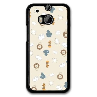 Harga Y&M Cartoon Elephant Lion Design Case for Shells for HTC One M8 (Multicolor)