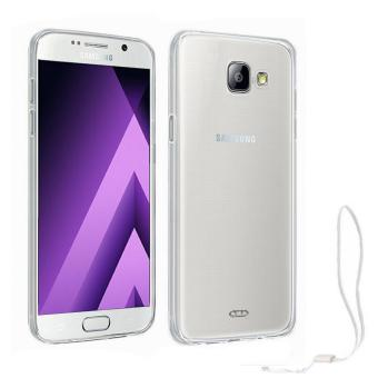 Harga Xundd Slim Silicone Case with Lanyard for Samsung Galaxy A7 2017 (Clear)
