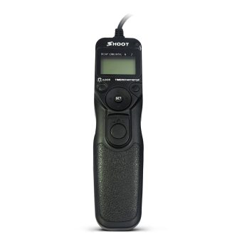 SHOOT RS-60E3 LCD Timer Shutter Release Remote Control for Canon EOS 650D/600D/550D/500D/1000D/450D/400D/350D/300D/100D/700D/60D (Rebel T4i, Rebel, Rebel XT, Rebel XTi, Rebel XSi, Rebel XS, Rebel T1i, Rebel T2i, Rebel T3i) Price Philippines