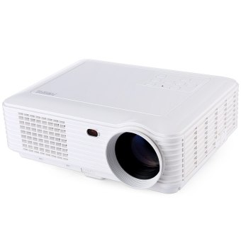 POWERFUL SV - 228 Home Theater 4000 Lumens 1280 × 800 Pixels Multimedia LCD Projector - UK PLUG (WHITE) Price Philippines