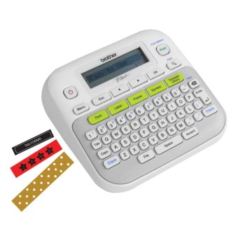 Brother PT-D210 Expert Label Maker (White) Price Philippines