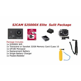 SJ5000X Elite Wifi Action Camera Sulit Package Price Philippines