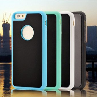 Harga Newest Anti-gravity Magical case Nano Sticky phone cover Adsorption Shell for iPhone - intl