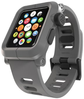 Harga LUNATIK EPIK Polycarbonate Case and Silicone Strap for Apple Watch 42mm, Grey/Grey
