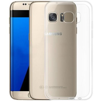 Harga LUOWAN Galaxy S7 Edge Case - Silicone Soft TPU Transparent Cover For Samsung Galaxy S7 Edge (Clear)