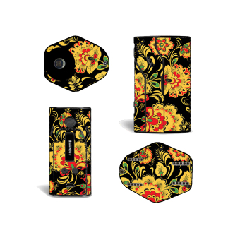 Oddstickers Floral 3 E-Cigarette Skin Cover for Wismec RX200 Price Philippines