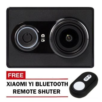 XiaoMi Yi/XiaoYi International Version 16MP Action/Sports Camera (Black) with Free Xiaomi Yi Bluetooth Remote Controller Shutter (Black) Price Philippines