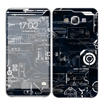 Oddstickers Circuit 2 Skin Cover for Samsung Galaxy E7 Price Philippines