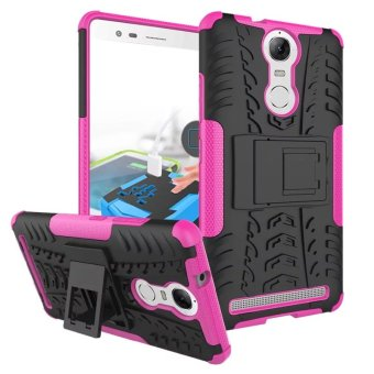 BYT Rugged Dazzle Case for Lenovo K5 Note with Kickstand (Rose) Price Philippines