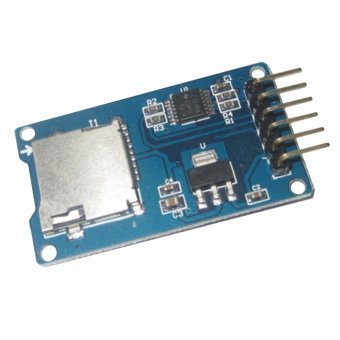 Fang Fang SD TF Card Memory Shield Module SPI For Arduino (Blue) Price Philippines
