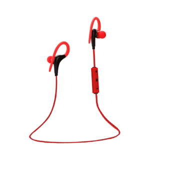 2016 Sport Wireless Bluetooth 4.1 Headphone Earphone Headset (Red) Price Philippines