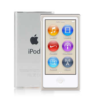 PopSky Scratch-Proof Premium Soft Transparent TPU Case for Apple iPod Nano 7 (White) Price Philippines