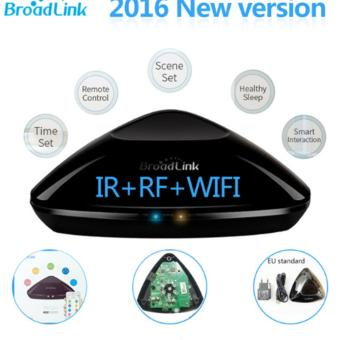 Harga Original Broadlink RM2 RM PRO Universal Intelligent Remote Controller Smart Home Automation WIFI+ IR+ RF Switch Via IOS Android EU Plug - intl